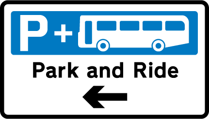 direction-and-tourist-signs - park and ride