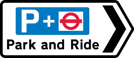 direction-and-tourist-signs - park ride tube