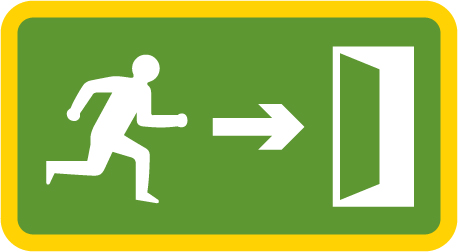 information-signs - emergency exit