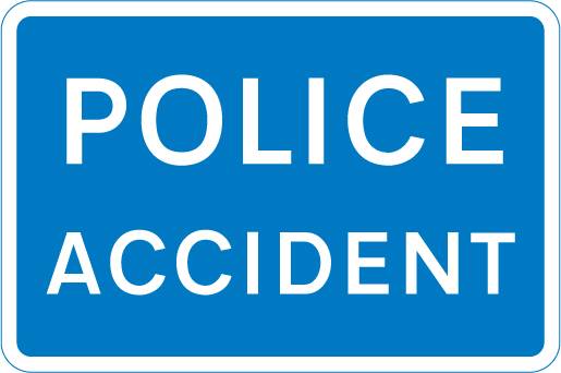 information-signs - police accident