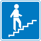 information-signs - stairs
