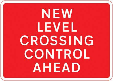 level-crossing-signs - level crossing control ahead