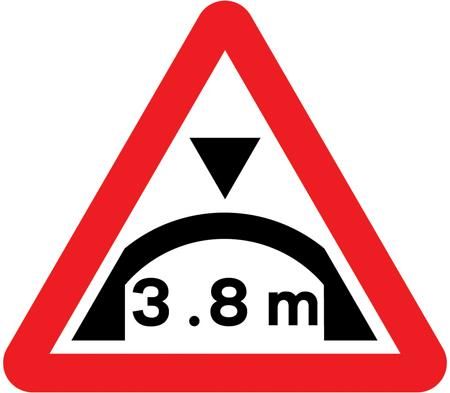 low-bridge-signs - arch bridge height warning