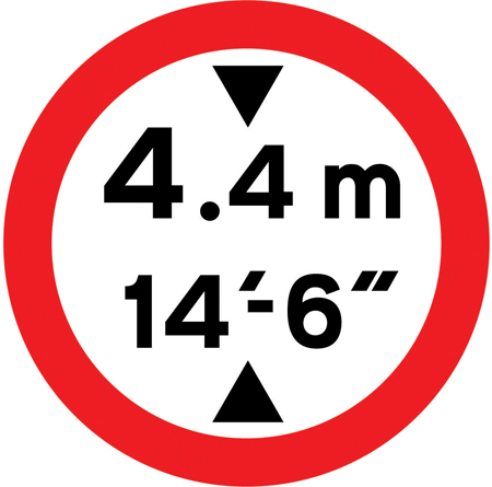 low-bridge-signs - height prohibition