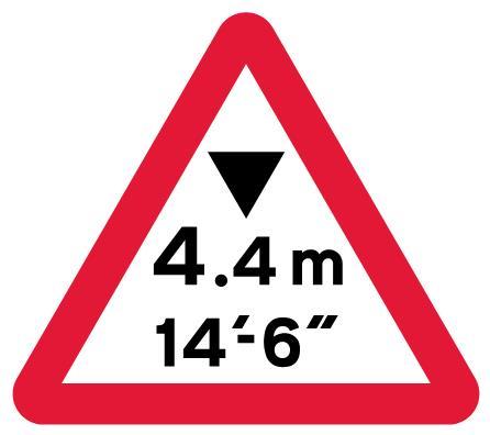 low-bridge-signs - height warning