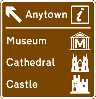 motorway-signs - anytown places of interest