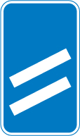 motorway-signs - countdown to exit 2