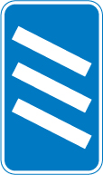 motorway-signs - countdown to exit 3