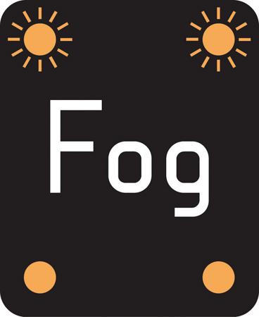 motorway-signs - fog on motorway
