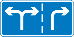 motorway-signs - lane guidance
