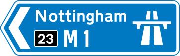 motorway-signs - nottingham