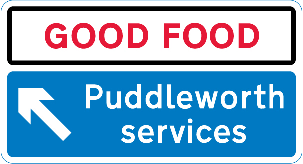 motorway-signs - puddleworth services