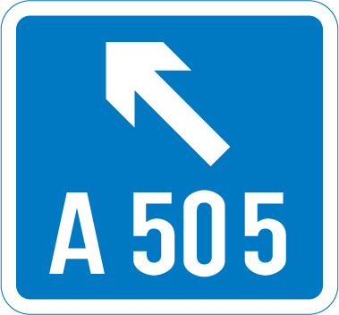 motorway-signs - route direction