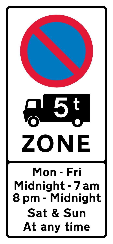 on-street-parking - 5 tonne restriction