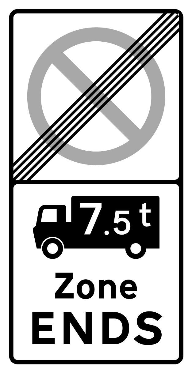 on-street-parking - 7 5 tonne restriction ends