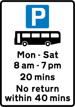 on-street-parking - bus parking