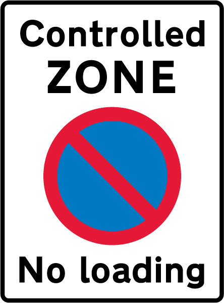 on-street-parking - controlled zone no loading