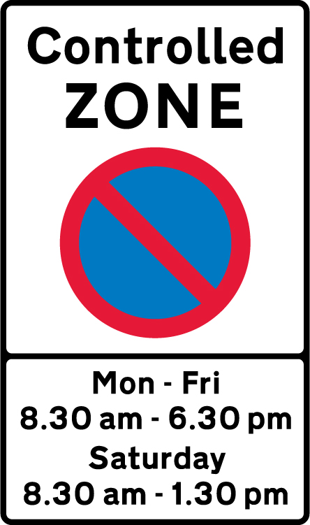 on-street-parking - controlled zone times