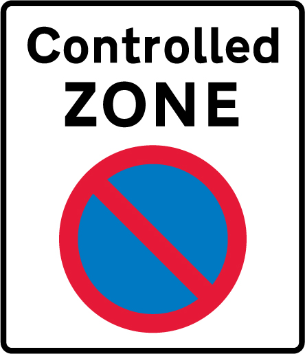 on-street-parking - controlled zone