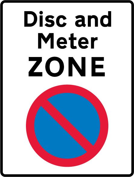 on-street-parking - disc meter zone