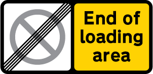 on-street-parking - end of loading area