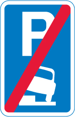 on-street-parking - end of parking on kerb zone