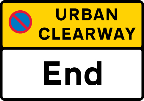 on-street-parking - end of urban clearway