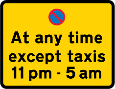 on-street-parking - except taxis