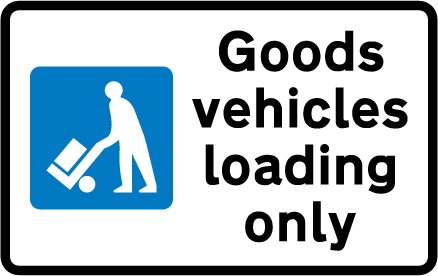 on-street-parking - goods vehicles only