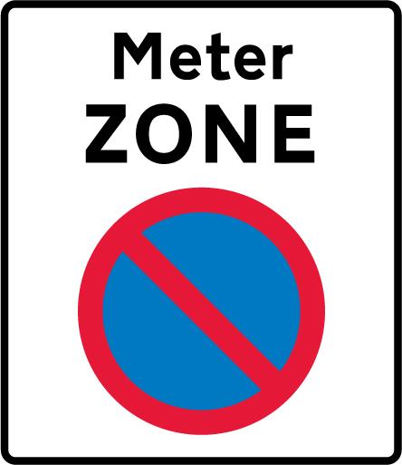 on-street-parking - meter zone