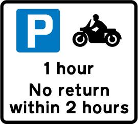 on-street-parking - motorcycle parking