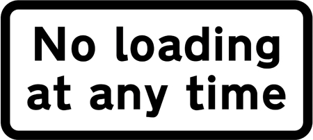 on-street-parking - no loading at any time