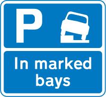 on-street-parking - park on kerb marked bays