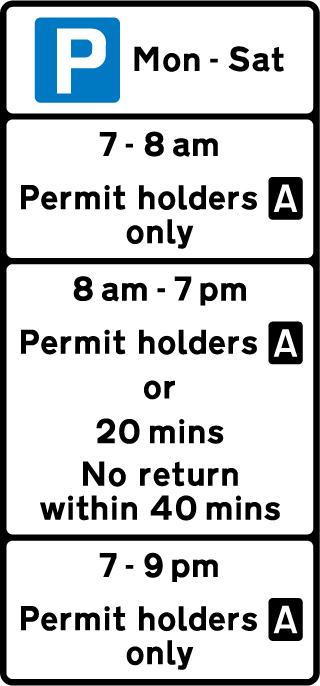 on-street-parking - parking restriction
