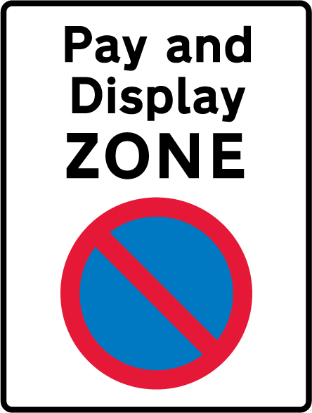 on-street-parking - pay and display zone