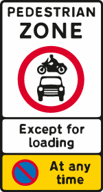 on-street-parking - pedestrian zone