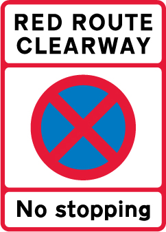 on-street-parking - red route clearway