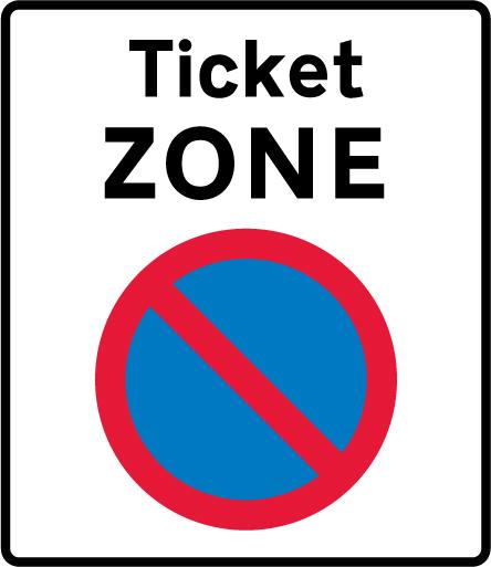 on-street-parking - ticket zone