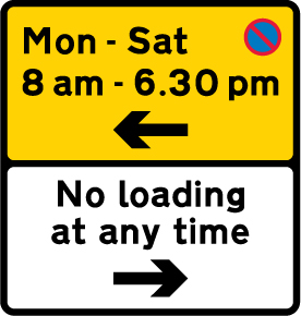 on-street-parking - waiting restriction loading restriction