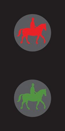pedestrian-cycle-equestrian - equestrian
