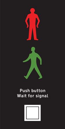 pedestrian-cycle-equestrian - puffin