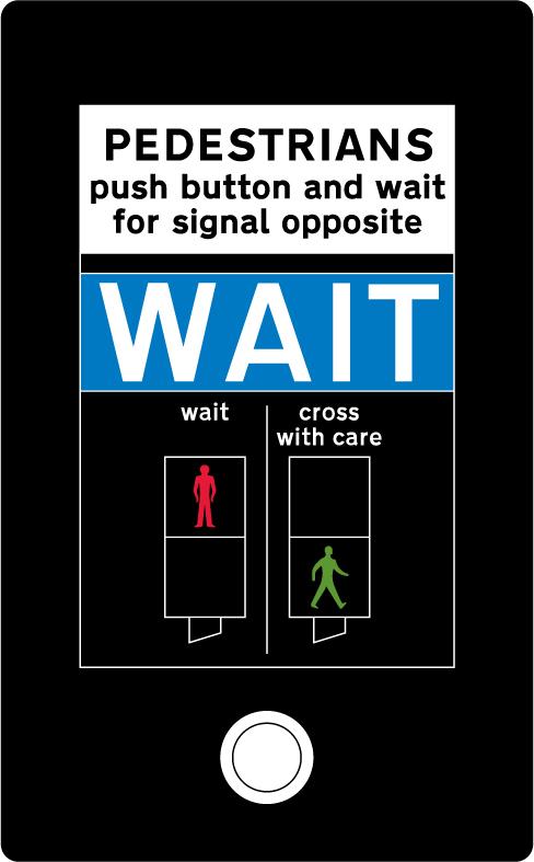 pedestrian-cycle-equestrian - wait pedestrian