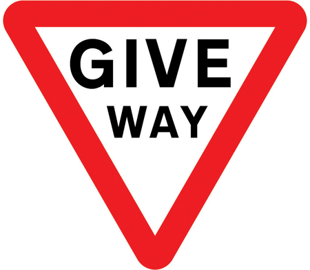 regulatory-signs - give way