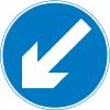 regulatory-signs - keep left
