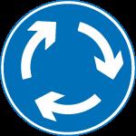 regulatory-signs - mini roundabout