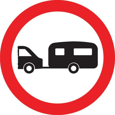 regulatory-signs - no caravans