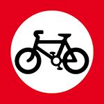 regulatory-signs - no cycling