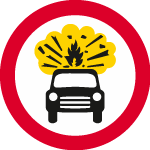 regulatory-signs - no explosives