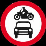regulatory-signs - no motor vehicles