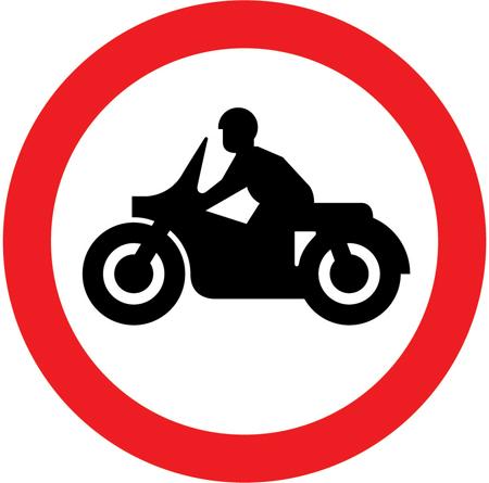 regulatory-signs - no motorcycles